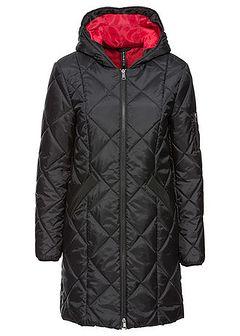 Płaszcz pikowany dwukolorowy