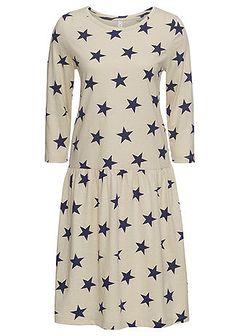 Sukienka shirtowa w gwiazdy