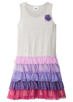Sukienka dziewczęca z falbanami