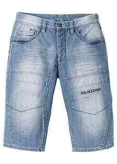 Długie bermudy dżinsowe Regular Fit