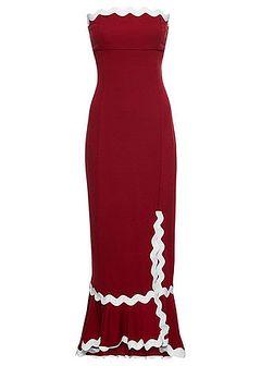 Sukienka z rozporkiem