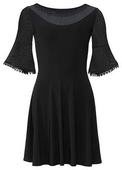 Sukienka z siatkowymi wstawkami