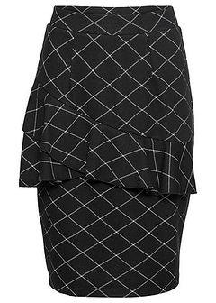 Spódnica z elastycznego żakardu