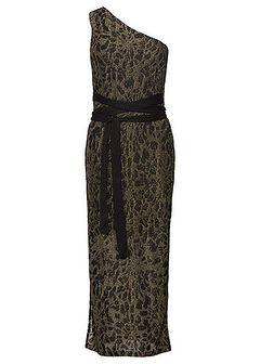 Sukienka wieczorowa z brokatowym połyskiem