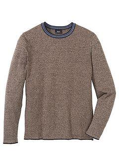 Sweter z bawełny z recylingu