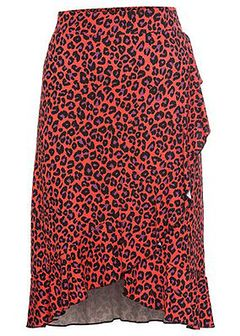 Spódnica w cętki leoparda