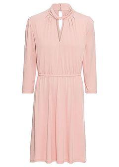 Sukienka z krepy z dżerseju