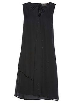 Sukienka szyfonowa Premium z kryształami Swarovskiego®