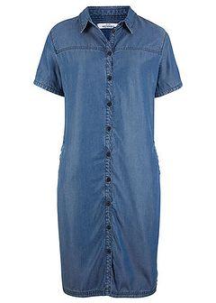Sukienka z tkaniny z tencelu, zrównoważony produkt