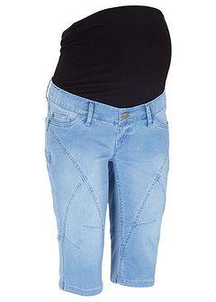 Bermudy dżinsowe ciążowe