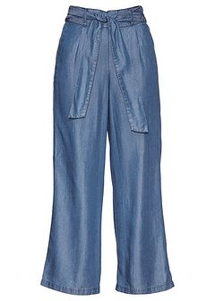 Spodnie culotte Premium, tencel