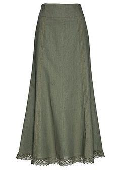 Spódnica lniana Premium