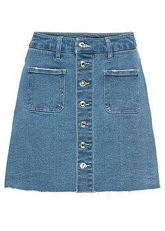 Spódniczka dżinsowa z guzikami
