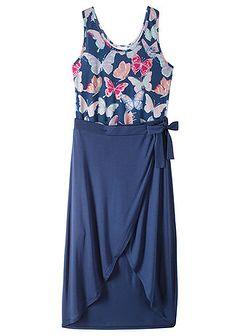 Letnia sukienka z długą spódnicą