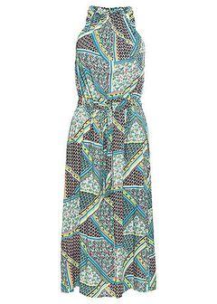 Sukienka z wiązanymi troczkami