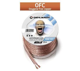 Oehlbach Speaker Wire SP-15 (105 - 2x1,5mm, 20m)