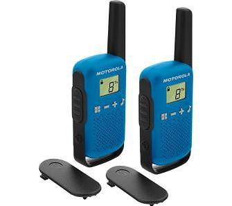Motorola TLKR T42 dwupak (niebieski)