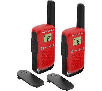 Motorola TLKR T42 dwupak (czerwony)