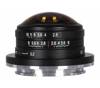 Laowa 4 mm f/2,8 Fisheye do Sony E