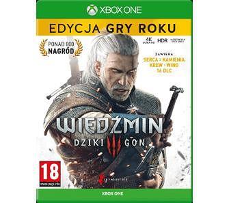 Wiedźmin 3: Dziki Gon Edycja Gry Roku Xbox One / Xbox Series X