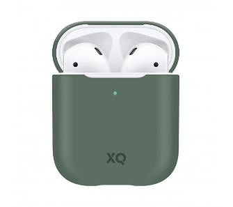 Xqisit AirPods Silicone Case (zielony)