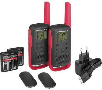 Motorola TLKR-T62 (czerwony)
