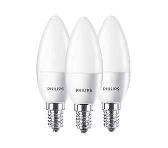 Philips LED Świeczka 5,5 W (40 W) E14 3 szt.