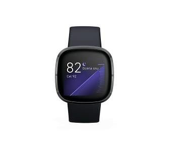 Fitbit sense (czarny)