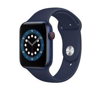 Apple Watch Series 6 GPS + Cellular 40mm (niebieski)