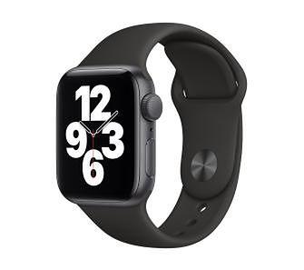 Apple Watch SE GPS 44mm (czarny-sport)