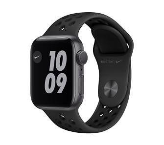 Apple Watch Nike Series 6 GPS 40mm (czarny)