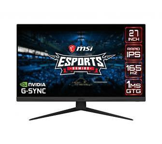 MSI Optix G273QF 1ms 165Hz
