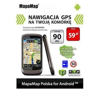 MapaMap Polska (90 dni)