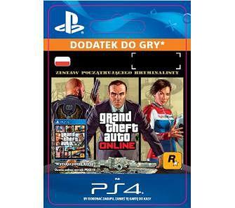 Grand Theft Auto V Zestaw Początkującego Kryminalisty [kod aktywacyjny] PS4Dostęp po opłaceniu zakupu