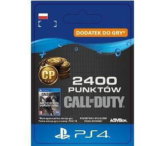Call of Duty: Modern Warfare 2400 Punktów [kod aktywacyjny] PS4Dostęp po opłaceniu zakupu