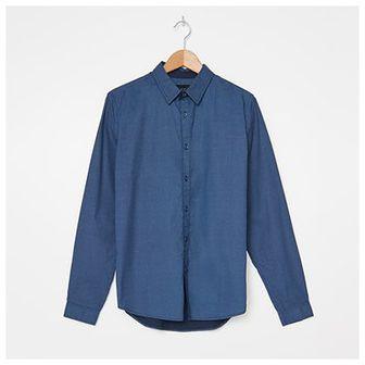 House - Wzorzysta koszula - Niebieski