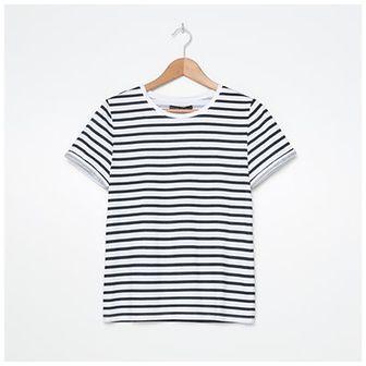 House - T-shirt z nadrukiem w paski - Paski