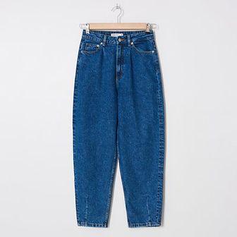 House - Denimowe spodnie slouchy - Niebieski