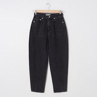 House - Denimowe spodnie slouchy - Czarny