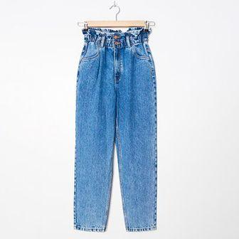 House - Mom jeans - Niebieski