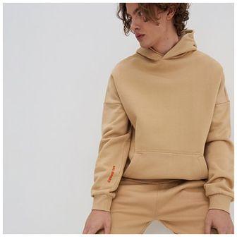 House - Bluza oversize z bawełny organicznej - Beżowy