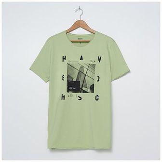 House - T-shirt z urbanistycznym motywem - Zielony