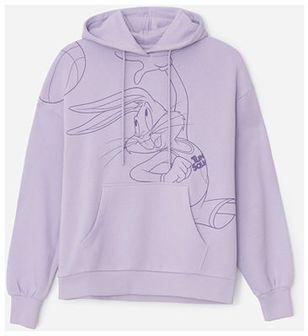 House - Bluza z kapturem Kosmiczny Mecz - Lavender