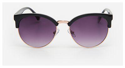 House - Okulary przeciwsłoneczne ombre - Czarny
