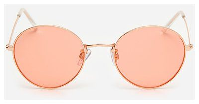 House - Okulary przeciwsłoneczne z okrągłymi szkłami - Pomarańczowy