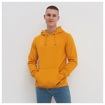 House - Bluza z kapturem basic - Żółty