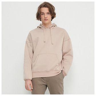 House - Bluza oversize z kapturem - Beżowy