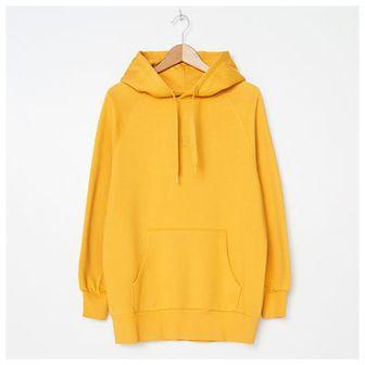 House - Bluza hoodie z haftem - Żółty
