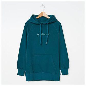 House - Bluza hoodie z haftem - Zielony