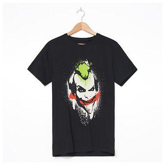 House - T-shirt z nadrukiem Joker - Czarny